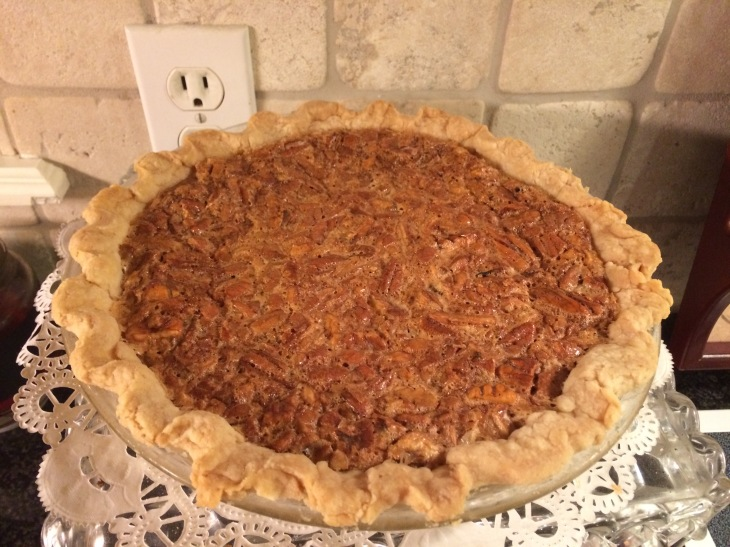 Pecan Pie I will miss tomorrow (at parents'  home in Tyler, Texas)